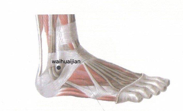 punto anatomica waihuaijian