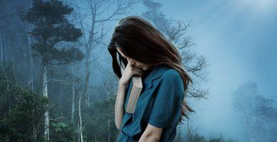 chica con depresion