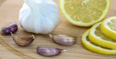 ajos y limones para mantener salud el cuerpo