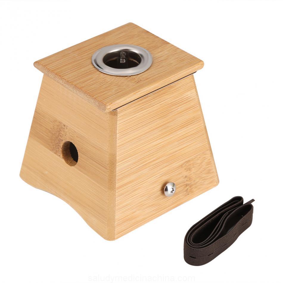 caja de bambu para moxibustion